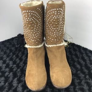 Studded Leather SoftWalk Winter Boots